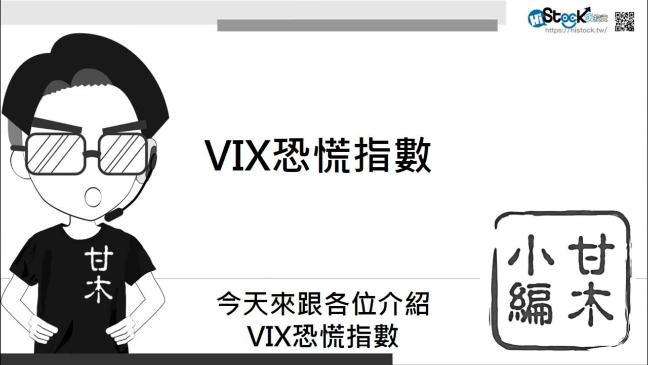 三分鐘搞懂VIX恐慌指數
