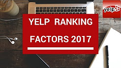 Yelp Ranking Factors 2017 | How to Rank on Yelp | Jason Decker SEO