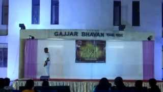 swapnil lahane dance on komdi song @nit surat