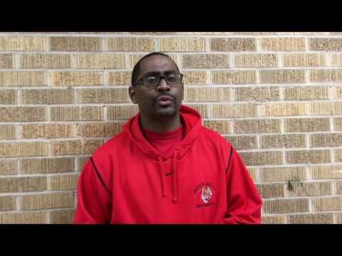 Coach James Collins Interview Jackson vs Carver Basketball 2018