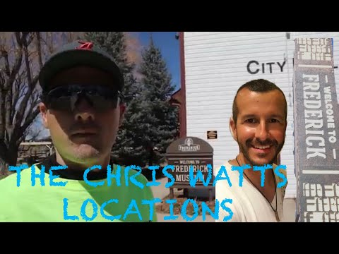 Chris Watts - New Footage Following His Footsteps In Frederick, Colorado