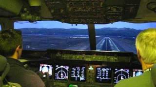 Cockpit CRASH MD-11: Parking Brake Set On Landing
