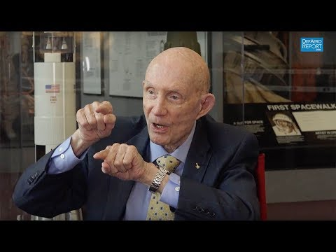 Former NASA Astronaut Stafford on Gemini VI Mission, First Space Rendezvous