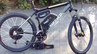 Electric Bike 1000w 48v eBike - Mountain eBike – Carrera Vulcan electric bike, Very Fast -Top Spec.