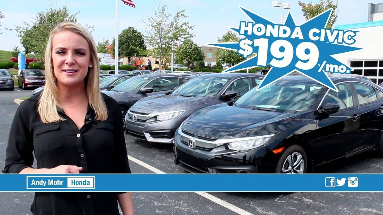 Superb Honda Civic | Sign U0026 Drive | $199/month | Andy Mohr Honda | Bloomington,  Indiana