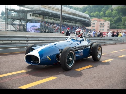 "AUTOMOBILSPORT TV - ONE LAP FRANK STIPPLER MASERATI 250F ""PICCOLO"" MONACO HISTORIC GRAND PRIX 2014"