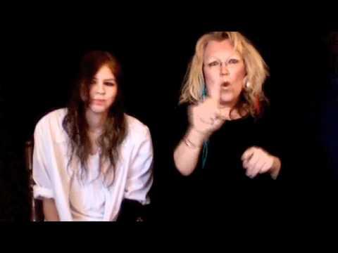 BLACK OR WHITE BY MICHAEL JACKSON (ASL)