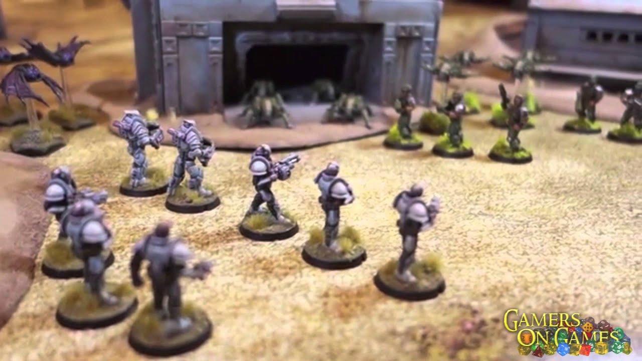Kickstarter Spotlight : Maelstrom's Edge : A Next-Gen Sci-Fi Miniatures  Wargame