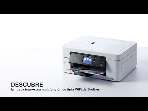Tour de producto Brother MFC-J895DW. Impresora multifunción de tinta WiFi con fax y NFC