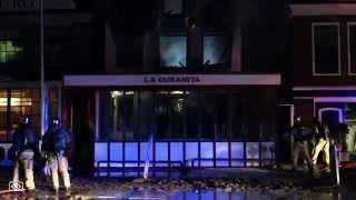 Grote brand verwoest restaurant La Cubanita in Amstelveen