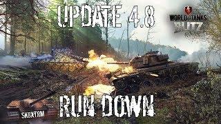 Update 4.8 Run Down - Wot Blitz