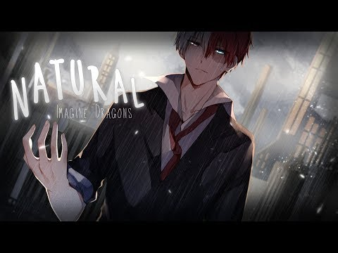 Nightcore - Natural (Female Version) || Lyrics「Imagine Dragons」