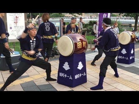 暴れ打ち!【超上手い!】田町チーム 小倉祇園太鼓 2017 #11
