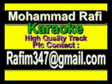 Tum Poochhte Ho Ishq Karaoke Nakli Nawab {1962} Rafi