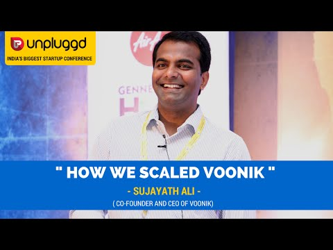 Sujayath Ali on How They Scaled Voonik at UnPluggd 2016
