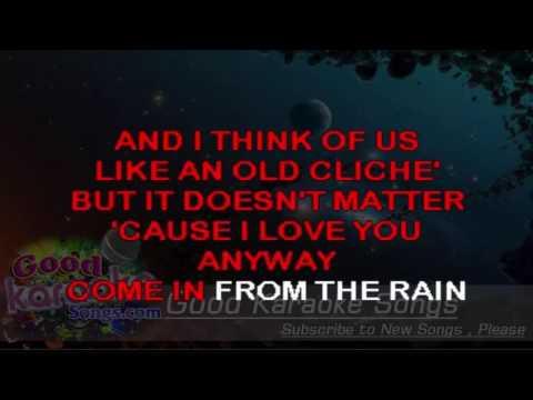 Come In From The Rain - Wishbone Ash ( Karaoke Lyrics )