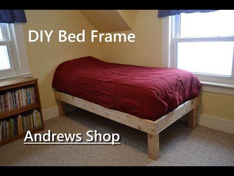 Cedar wood twin Bed frame