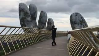 Житель Северной Осетии исполнил зажигательный танец на мосту «Golden Bridge» во Вьетнаме