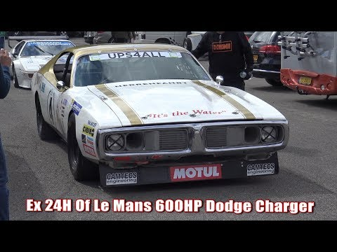 |ONBOARD| 600HP 1976 Le Mans Dodge Charger At Spa Summer Classic 2017