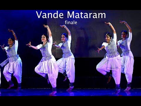 'Being Indian!' - Vande Mataram finale - Sridevi Nrithyalaya - Bharathanatyam Dance