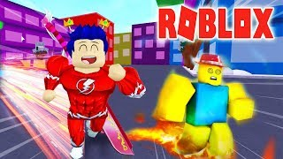 Roblox - Cuộc Chiến Tốc Độ Ai Sẽ Chạy Nhanh Như Người Hùng Tia Chớp 🔥 Speed City