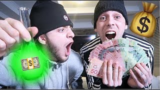 ORDERING MONEY POTION FROM THE DARK WEB AND USING IT WITH IMJAYSTATION!! (IT WORKED) *IM RICH*