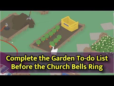 Untitled Goose Game - Complete Garden List Before Church Bells Ring