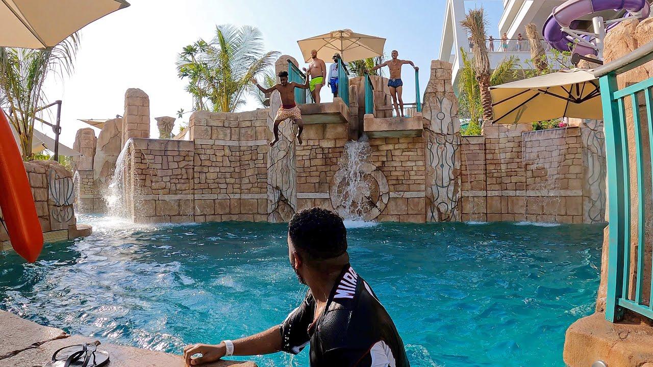 Super Falls at Aquaventure Atlantis Dubai