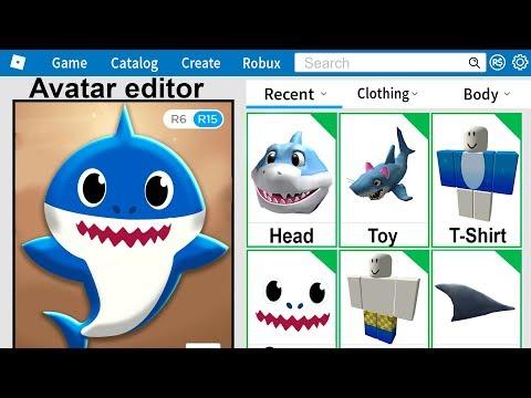 i-made-baby-shark-a-roblox-account!