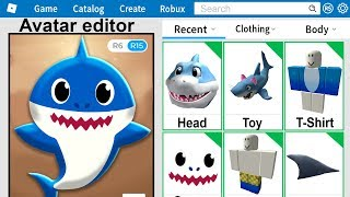 I Made BABY SHARK a Roblox Account!
