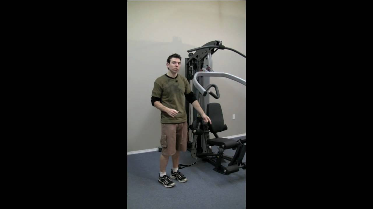 Review of Body Solid Fusion 500 Home Gym - YouTube