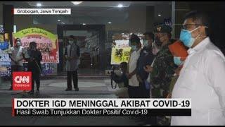 Dokter IGD di Jateng Meninggal Akibat Covid-19