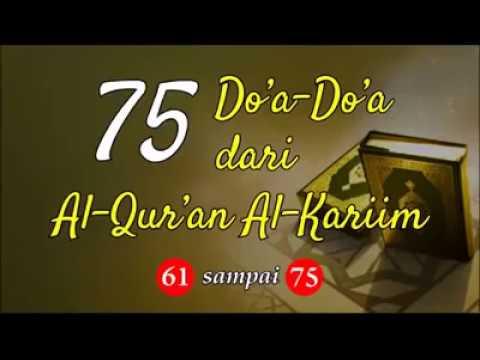 Kumpulan Doa Mustajab dalam Al Quran oleh Syaikh Mishary Alafasy