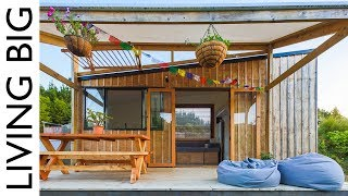 Olympic Athlete And Furniture Maker Build Beautiful Tiny Home