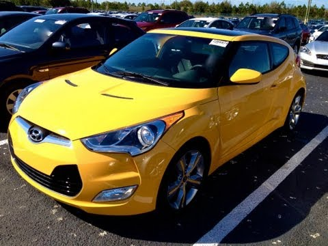 2012 Hyundai Veloster Start Up, Quick Tour, Rev With Exhaust View 2K