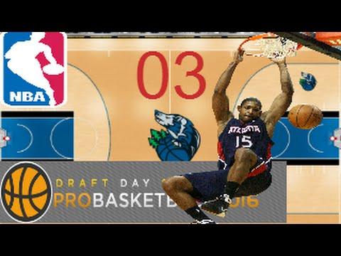 Draft day sports   pro basketball 2016   Cap  3 Al Horford MVP   gameplay español