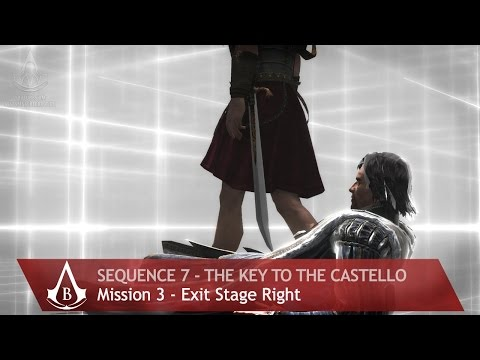 Assassin's Creed: The Ezio Collection - AC: Brotherhood - Sequence 7 - Exit Stage Right