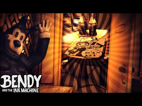 ROOM WE MISSED !!! O: SECRET POSTER!! | Bendy and the Ink Machine [Downward Fall] Chapter 4 Teaser
