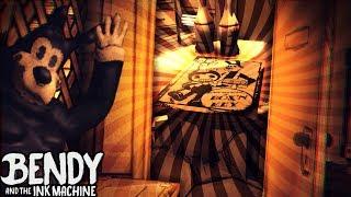 ROOM WE MISSED !!! O: SECRET POSTER!! | Bendy and the Ink Machine [Downward Fall] Chapter 4 Teaser