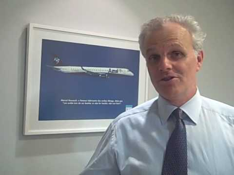David Neeleman, CEO and founder of Azul, the new Brazilian airline.