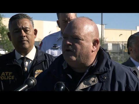 Officials give update on package explosion at FedEx facility in Texas