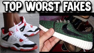 Top 10 Worst Fake Shoes of All Time!