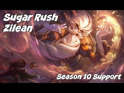 League of Legends: Sugar Rush Zilean Support Gameplay