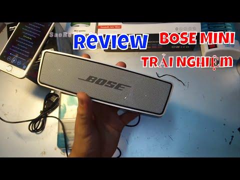 Loa Bluetooth BOSE - ĐỈNH CAO ÂM THANH MINI  - Tất cả trong 1 - Cách Dùng - Cấu Tạo - Chức Năng