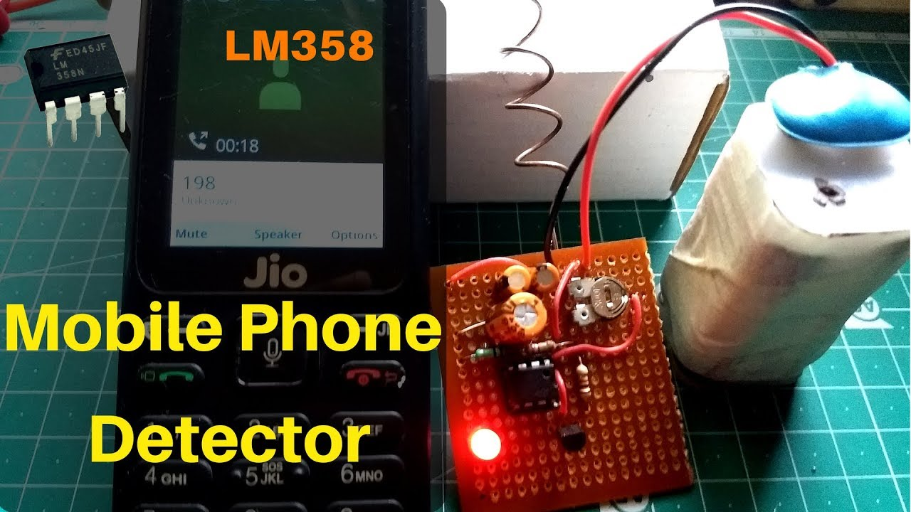 How To Make Mobile Phone Detector Using Lm358 Youtube Single Ic Preamp By