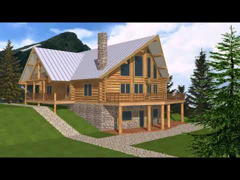 Small Mountain House Plans With Walkout Basement