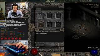Diablo 2- Hell Sorceress Speedrun Race w/ Teo1904!