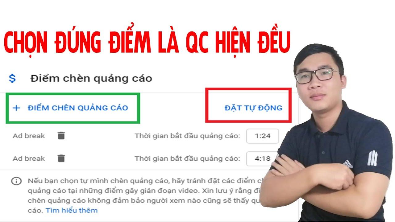 Kiếm Tiền Youtube 2020 Kinh Nghiệm Chèn Quảng Cáo Dành Cho Video Trên 8 Phút | Duy MKT