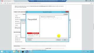 This video tutorials show how to install peoplesoft hcm 9.2 application.