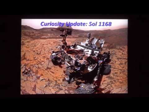 Steve Lee - Mars Rovers Opportunity and Curiosity (60 Minutes in Space - November 2015)